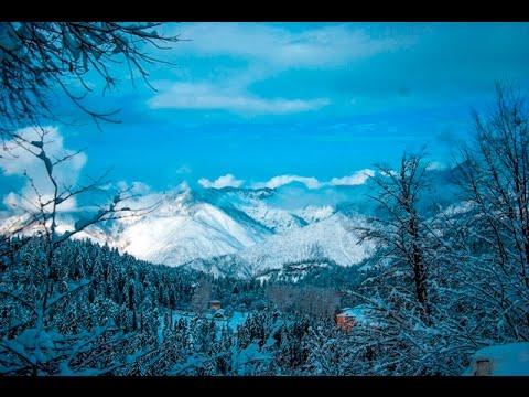 Winter in Georgia, Bakuriani-Borjomi Winter road 05,12,2016