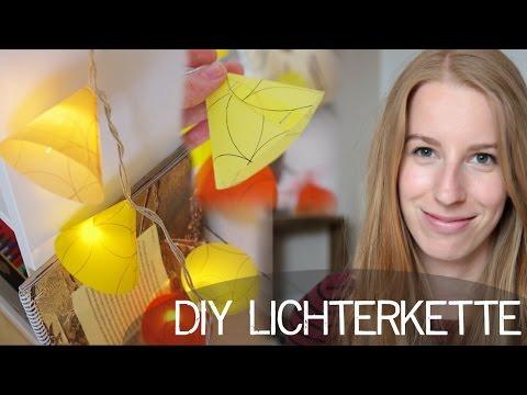 diy lichterkette mit papiersterne anleitung doovi. Black Bedroom Furniture Sets. Home Design Ideas