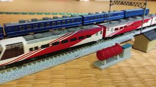 東西ジョイフルトレインの混走 牽引機 TOMIX DD51-1121 KATO EF81-95.