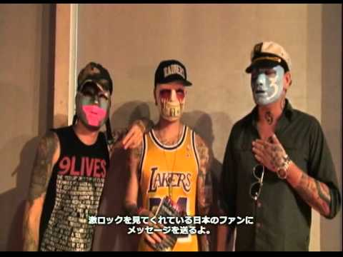 HOLLYWOOD UNDEAD-SUMMERSONIC09-