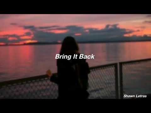 Shawn Mendes - Bring It Back (Tradução/Legenda)