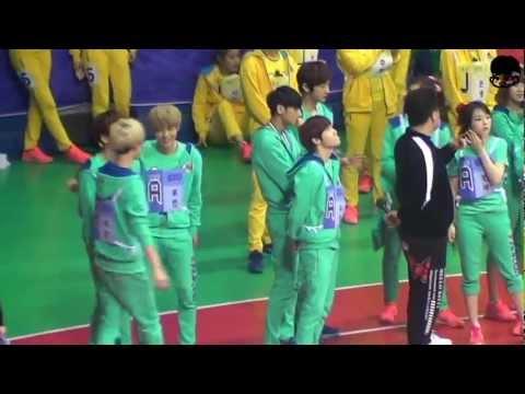 130128 - 130129 EXO SHINee Minho @ MBC idol star olympic sports championship athletic 2013