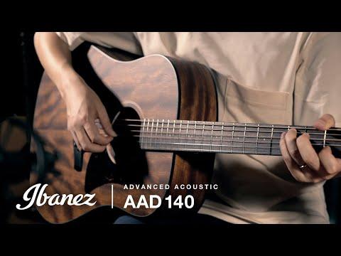 Ibanez AAD140-OPN Acoustic Guitar