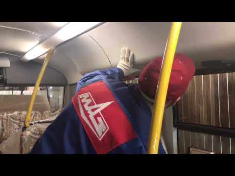 Обслуживание автобуса МАЗ 206