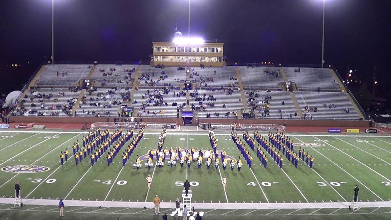 Tennessee Tech Marching Band Murray State 2014 YouTube