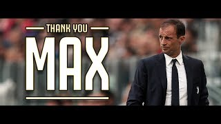 Thank You Max - IL FILM | Il meglio di Allegri con la Juventus (2014-2019)