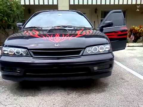 trick out 95 honda accord youtube