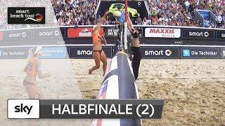 2.Frauen-Halbfinale | Komplett | Timmendorfer Strand–Deutsche smart Beach-Volleyball Meisterschaften
