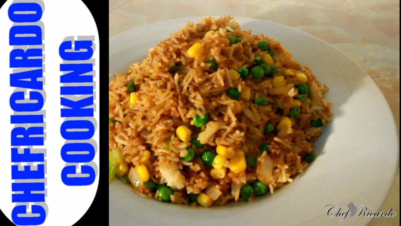 Christmas stir fry rice recipe jamaican caribbean cooking christmas stir fry rice recipe jamaican caribbean cooking recipes by chef ricardo youtube forumfinder Choice Image