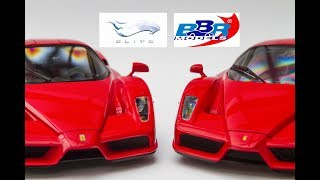 BBR vs ELITE - Ferrari Enzo in 1:18