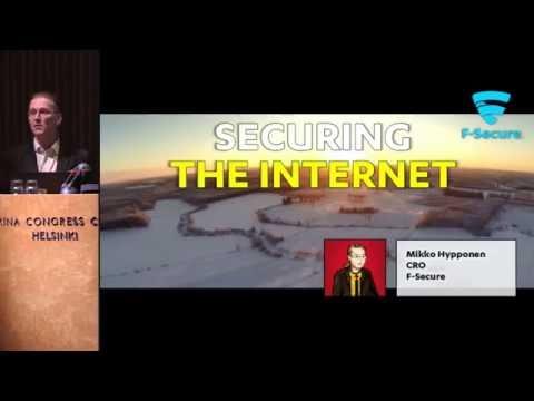 Mikko Hypponen keynote at NORDUnet