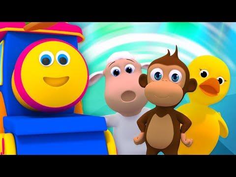 Bob as músicas de trem para bebês | Rimas De Berçário E Vídeos Para Crianças
