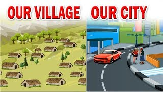 Our village, our city | 3rd Std | EVS | English Medium | Maharashtra State Board | Home Revise