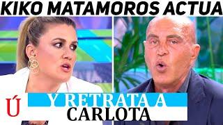 ¡Falsa! Kiko Matamoros reacciona al veto de Carlota Corredera y la HUNDE en directo en el Deluxe