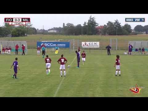 Ravenna Top Cup 2017   Finale Milan   Fiorentina 2o tempo