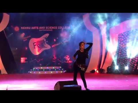 NASC- Festember, Solo Dance by Arunima Sudhakar, BBA - YouTube