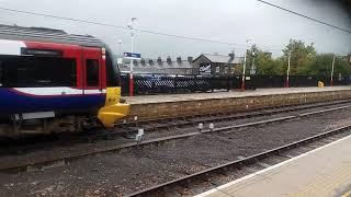 Class 333 leaving Ilkley station