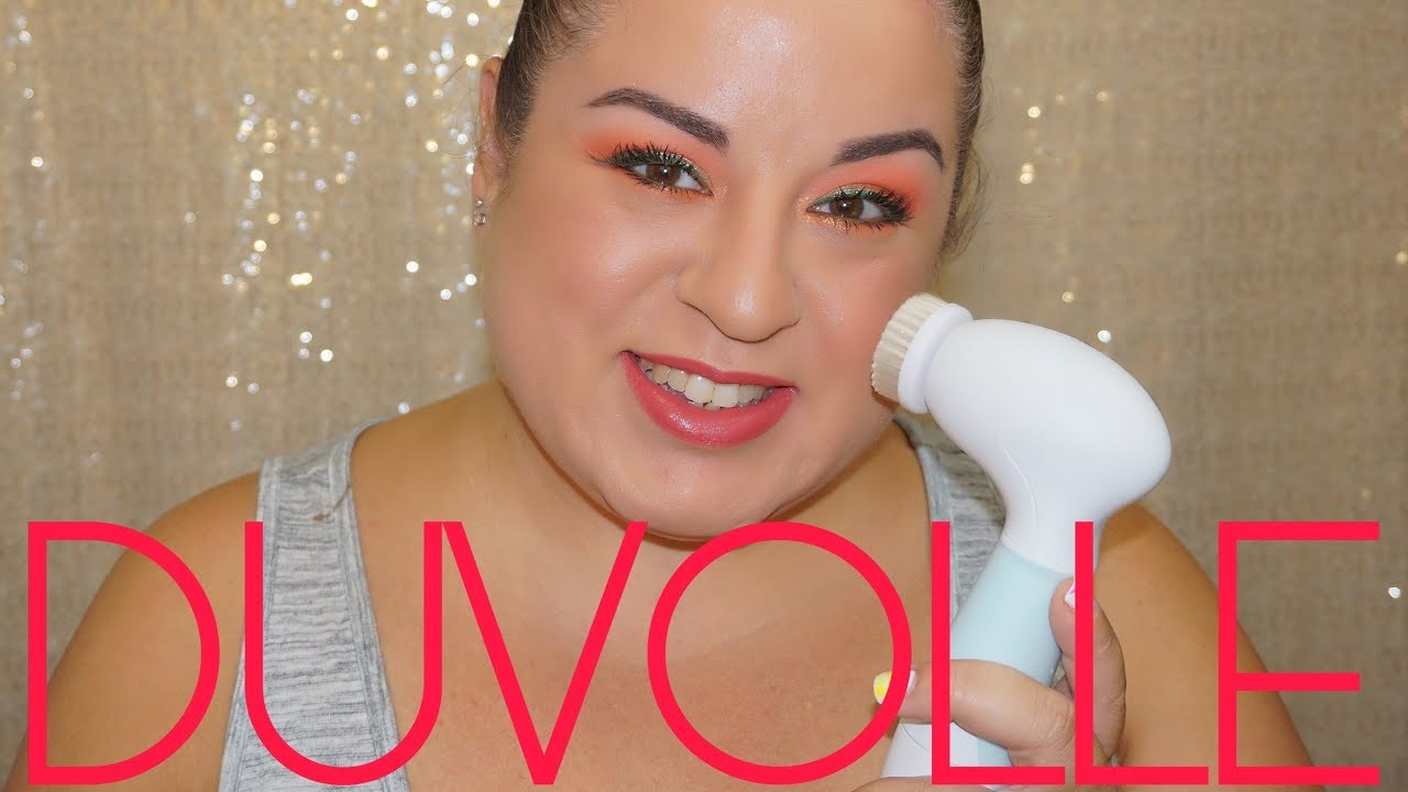 DUVOLLE RADIANCE SPIN-CARE SYSTEM | BETTER THAN CLARISONIC?!?!