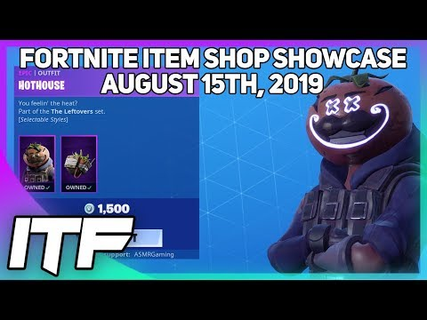 Fortnite Item Shop A LOT OF NEW STUFF! [August 15th, 2019] (Fortnite Battle Royale)