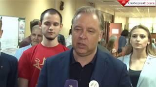 Смотреть видео Вадим Кумин о голосовании за мэра Москвы онлайн