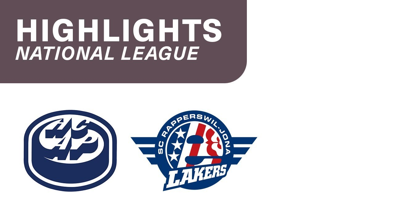 HC Ambri-Piotta vs. SC Rapperswil-Jona Lakers 4:3 - Highlights National League
