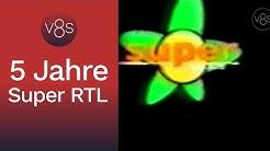 Logo-Animation: Fünf Jahre Super RTL (2000)