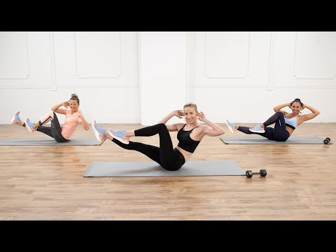 30-Minute Flat Abs & Toned Booty Workout