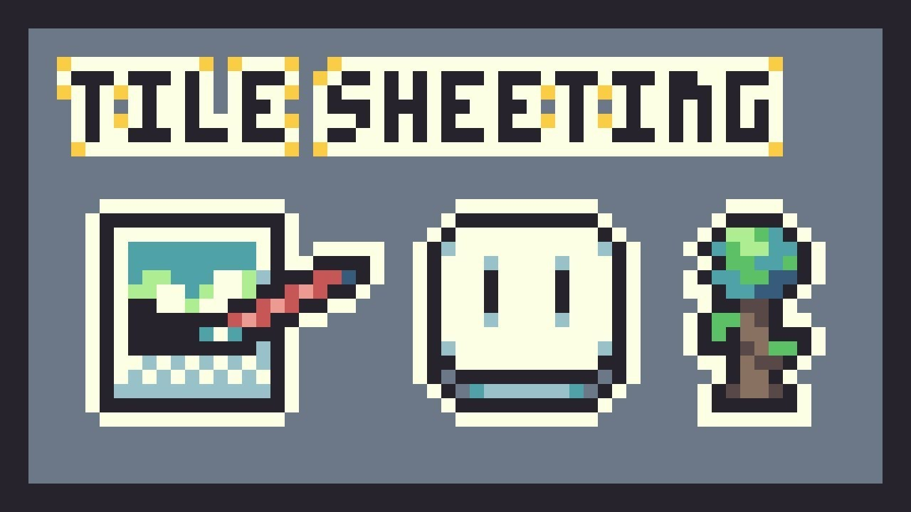Terraria Spriting Tutorial - Sheeting Tiles Part II (Aseprite and Paint NET)