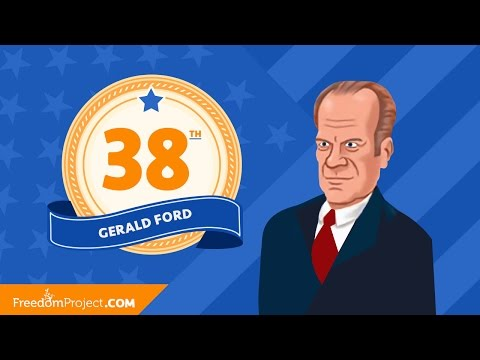 Gerald Ford | Presidential Minute