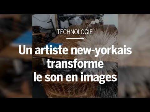 Un artiste new-yorkais reproduit du son en direct et en 3D