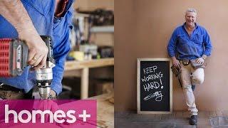 Scott Cam Diy: Timber Blackboard - Homes+