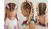 HAIR ❤ ТРЕНД БОКСЕРСКИЕ КОСЫ цветные косы kharitosha - YouTube