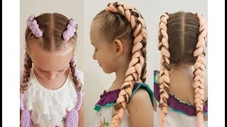 How to braid boxer braids for beginners. Jumbo braids. Summer braids.