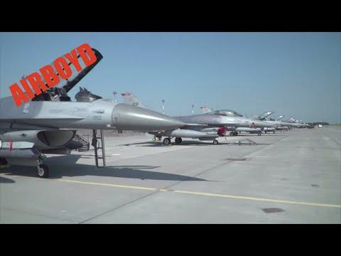 F-16s At Spangdahlem