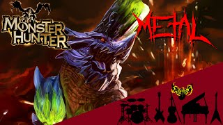 Monster Hunter - Brachydios Theme【Brute Symphonic Metal Cover】