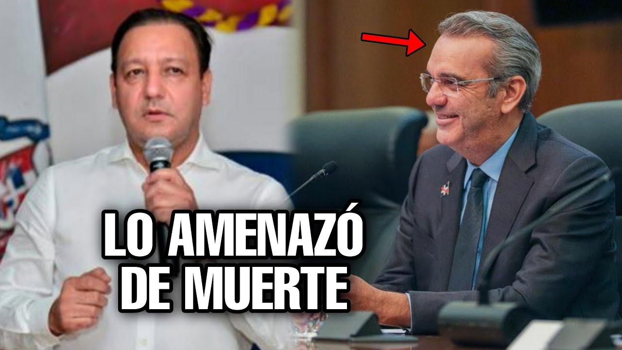 Mira como Le llamo Abel Martínez al presidente Luis Abinader