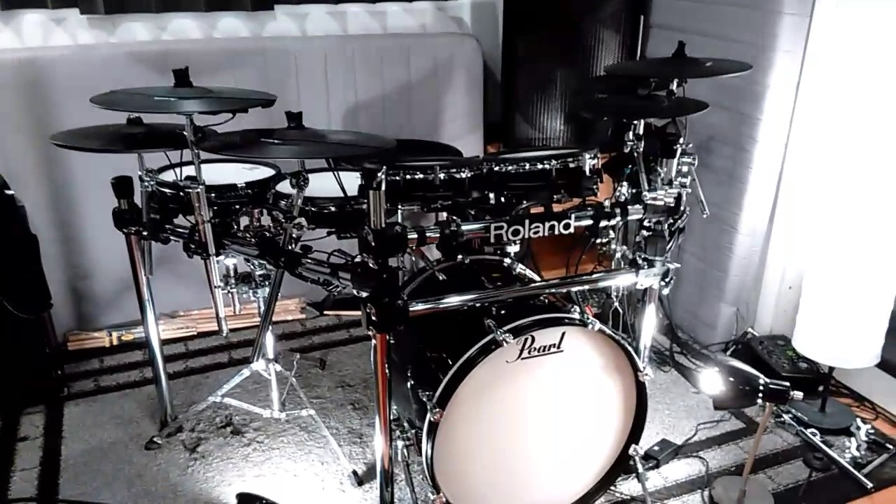 Best Electronic Drumset for  1500   YouTube Best Electronic Drumset for  1500