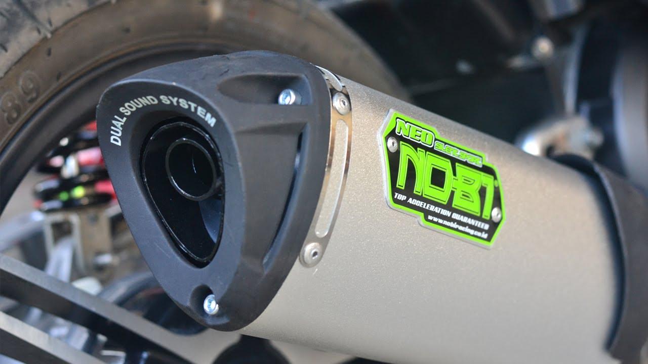 Honda Dual Sport >> Nob1 Neo Silent Sport Dual Sound Exhaust - Mio Amore