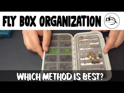 Fly Box Organization: Get Those Flies In Order!