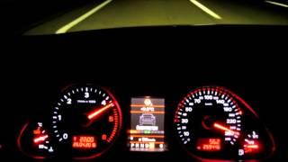 Audi A6 C6 3.0 TDI 0- Vmax aktiver Abstandstempomat Radar adaptive cruise control ACC on