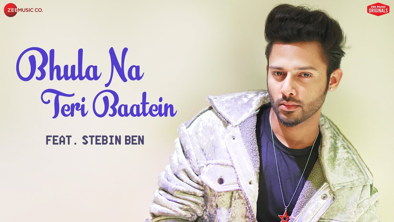 Bhula Na Teri Baatein - live video | Stebin Ben | Anjjan Bhattacharya | Kumaar | Zee Music Originals