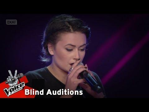 Βάσια Καλαϊτζόγλου - Αυτή η νύχτα μένει | 13o Blind Audition | The Voice of Greece