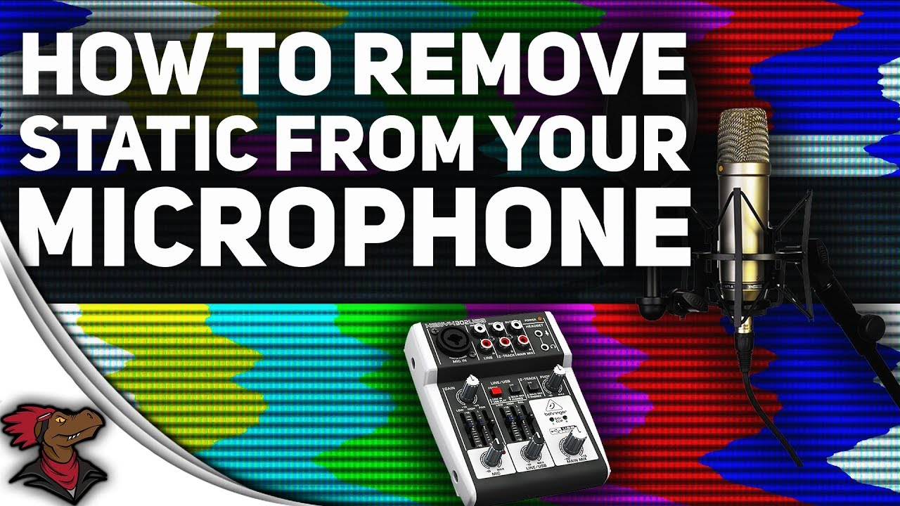 How To Remove Static From Your USB Interface/Mixer And Mic | Easy Fix