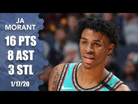 Ja Morant throws down hammer in electric game in front of Murray State fans | 2019-20 NBA Highlights