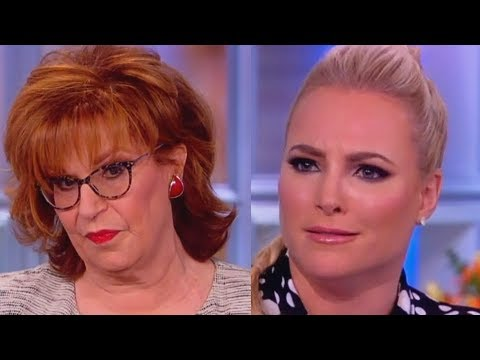 Meghan McCain and Joy Behar Fight About Their Intelligence