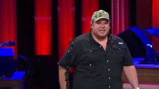 Watch as Chris Janson & Craig Morgan Invite Luke Combs to Become a Member of the Grand Ole Opry Video