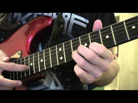 Metallica - One - How To Play The Tapping Solo - Guitar Lesson - WITH TABS