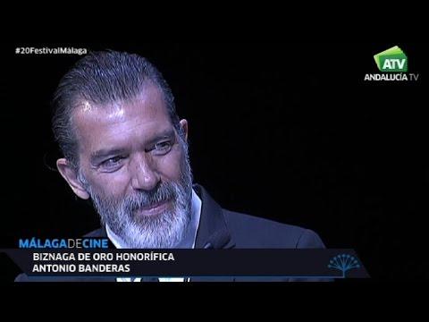 Biznaga de Oro honorífica para el actor Antonio Banderas