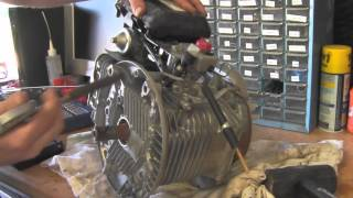Teardown Disassemble GCV190 Honda No Compression