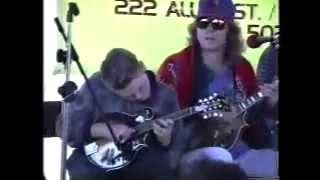 Huckleberry Hornpipe performed by Sam Bush, Adam Steffy, 14 years Chris Thile